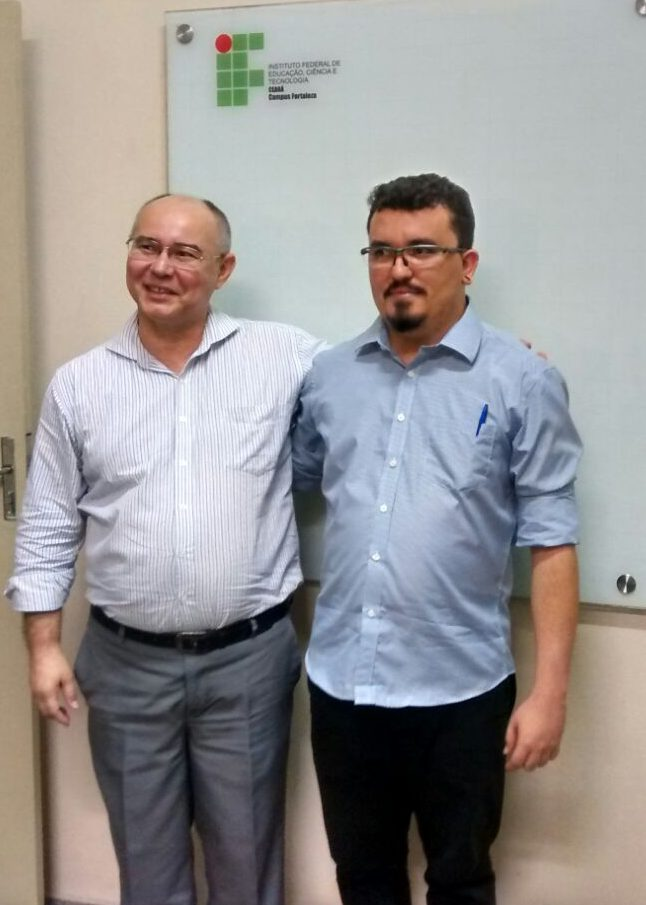 Defesa: Jonas e Prof. Auzuir (orientador)