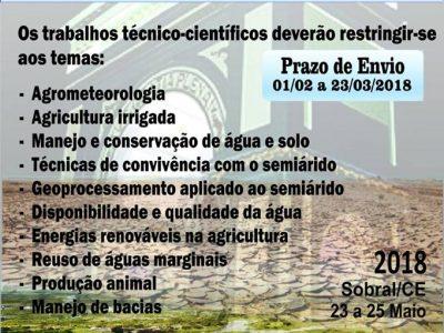 Workshop Internacional de Inovações Tecnológicas na Irrigação – WINOTEC