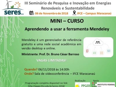 MINI-CURSO: Ferramenta Mendeley