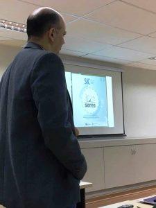 Palestra do Prof. Dr. Cássio Andrade (UNIFOR , ARCE)