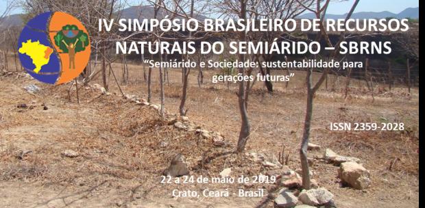 IV Simpósio Brasileiro de Recursos Naturais do Semiárido – SBRNS