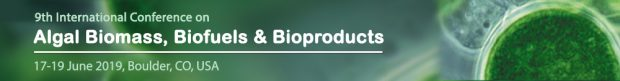 9th Internacional Conference on Algal Biomass, Biofuels and Bioproducts